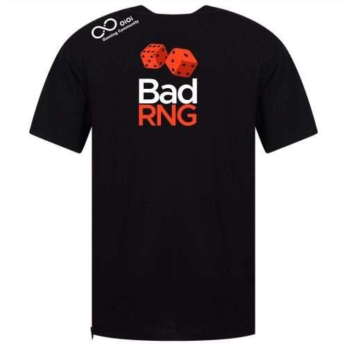 OiOi BadNRG Gaming T-shirt Front