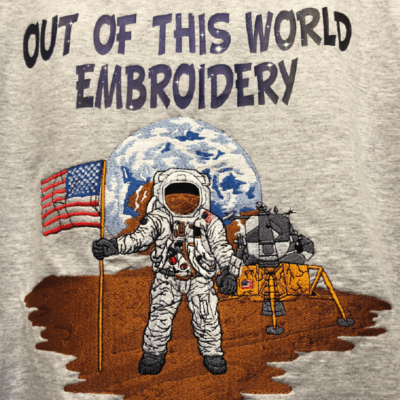 Out of this World Embroidery