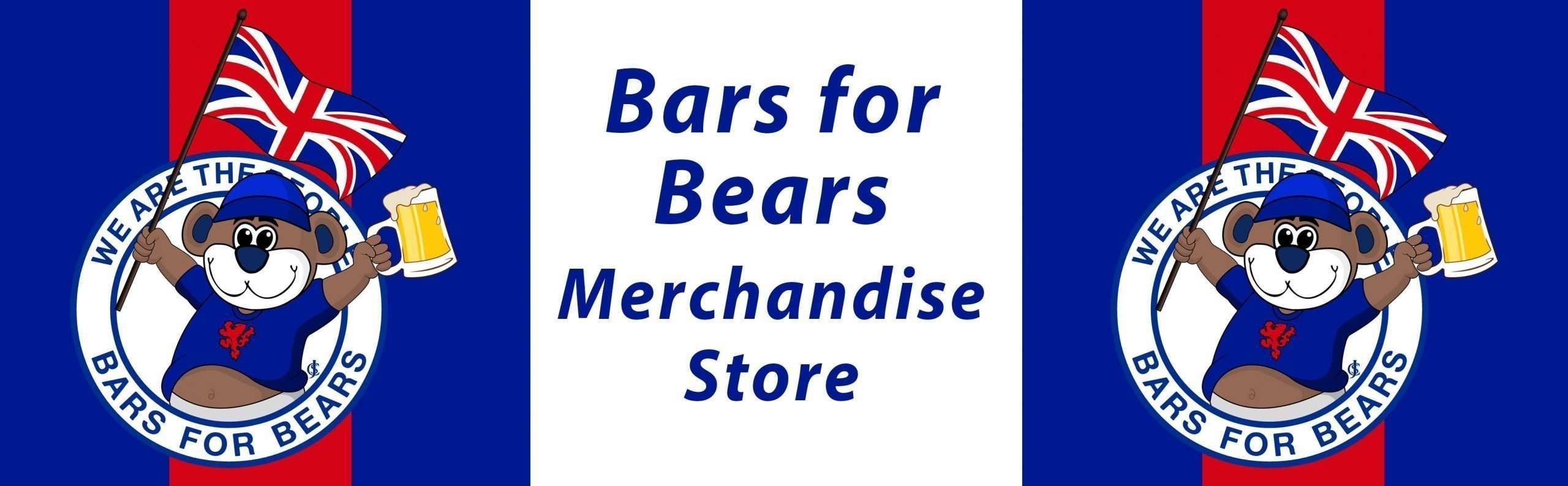 Bars for Bears Merchandise Store