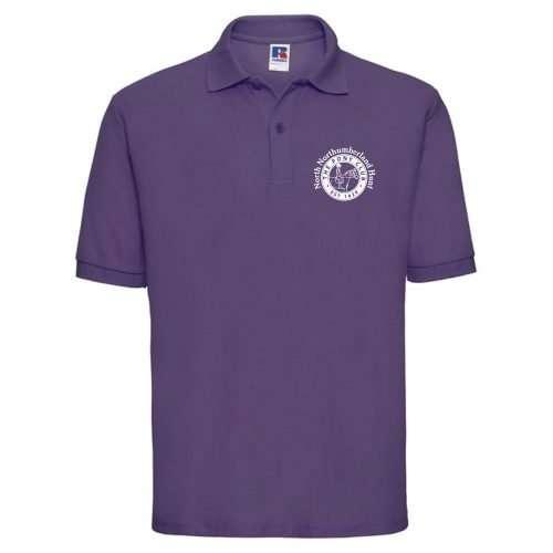 NNHPC Adults Classic Polycotton Polo Purple