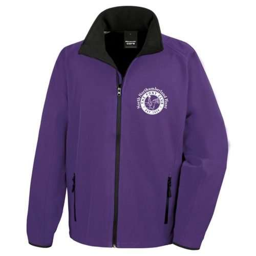 NNHPC Adults Softshell Jacket Purple