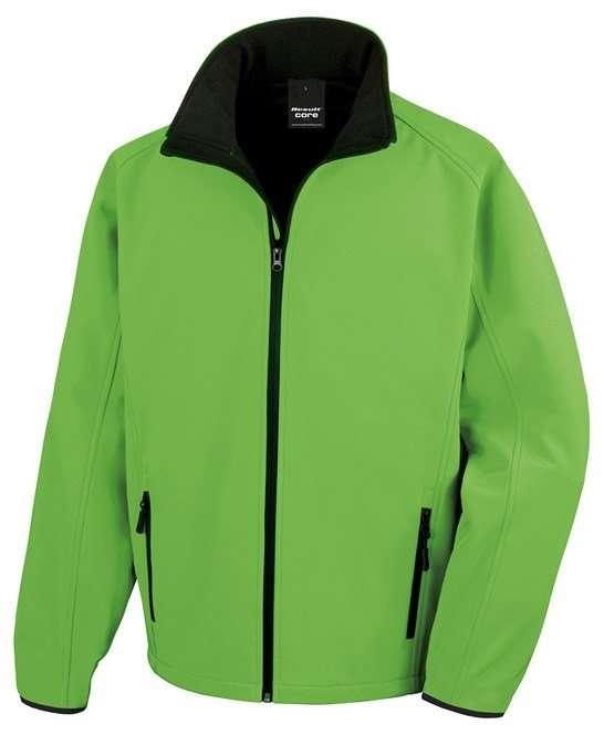 Softshell Jacket VIVID GREEN/BLACK