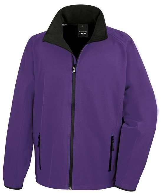 Softshell Jacket PURPLE/BLACK