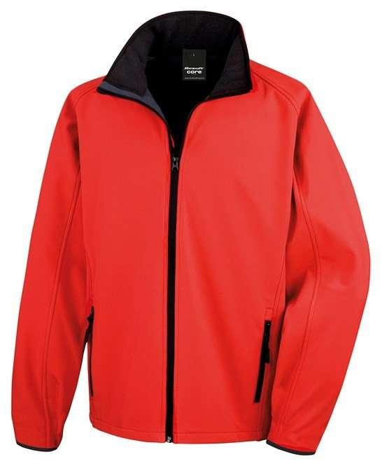 Softshell Jacket RED/BLACK