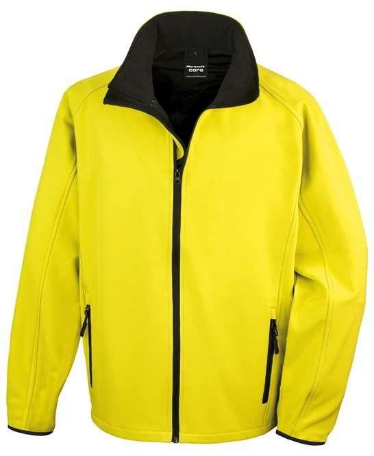 Softshell Jacket VIVID YELLOW/BLACK
