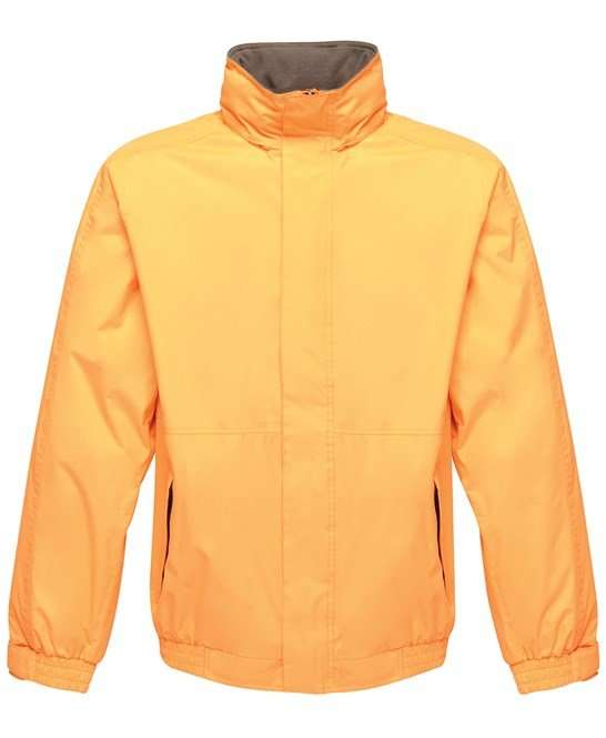Waterproof Dover Jacket SUN ORANGE/SEAL GREY